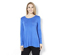 Logo by Lori Goldstein Seam Detail Tunic - 157505