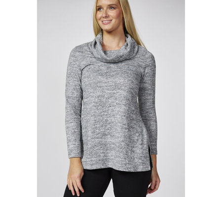 Mr Max Topaz Knit Cowl Neck Top