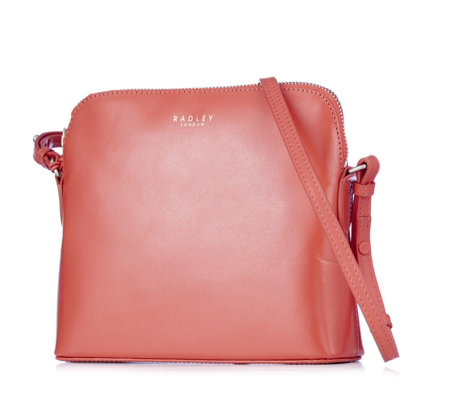 Radley London Millbank Small Leather Zip Top Crossbody Bag