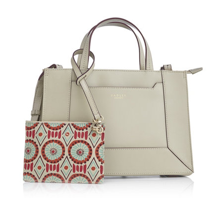 Radley London Hardwick Summer Tribes Medium Leather Zip Top Tote Bag