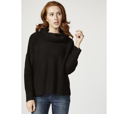 Rib Detail Roll Neck Jumper by Michele Hope