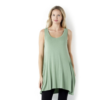 Join Clothes Sleeveless Swing Tunic