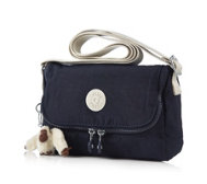 Kipling Dulexie Small Flapover Handbag with Cross-body Strap