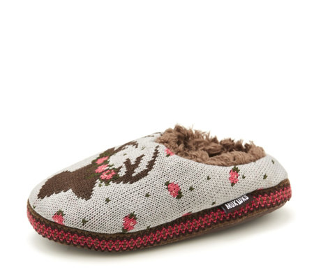 Muk Luks Women's Lucia Deer Slipper