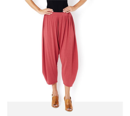 Join Clothes Draped Harem Trousers