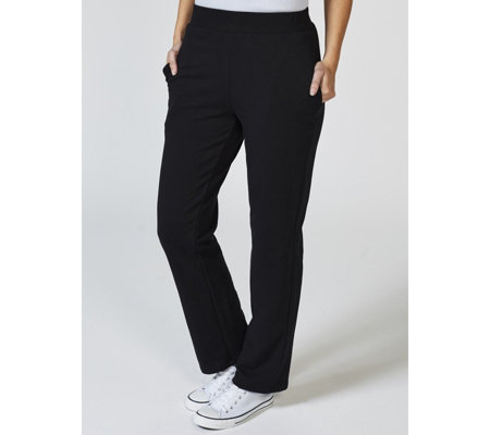 Antthony Designs French Terry Straight Leg Trousers