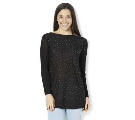 Attitudes by Renee Diamonte Scatter Knitted Jumper