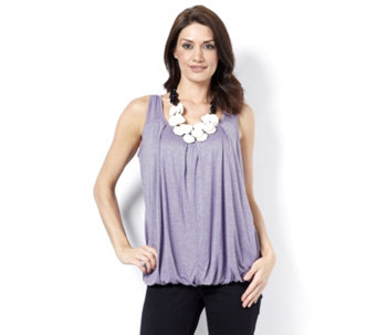 MarlaWynne Whisper Knit Blouson Top - 159011