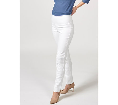 Women with Control Tummy Control Prime Stretch Denim Regular Ankle Trouser
