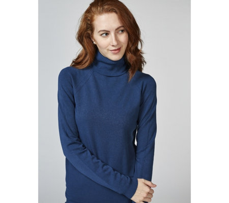 Dressage by Paul Costelloe Viscose Blend Polo Neck Jumper