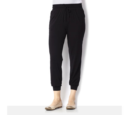 Anybody Loungewear Banded Hem Regular Cuff Joggers