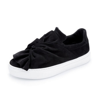 Bronx Suede Knot Slip On Sneaker Loafer - 168612