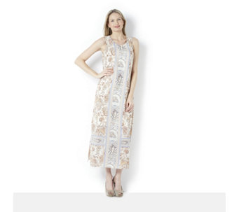 C Wonder Printed Maxi Dress - 158814