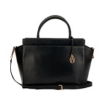 Amanda Wakeley The Sutherland Large Leather Tote Bag with Crossbody Strap - 162114