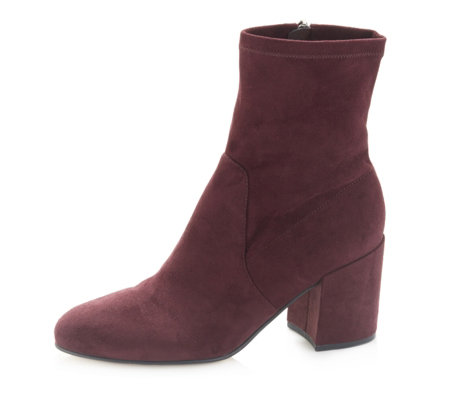 Marc Fisher Ileesia Ankle Boot with Block Heel