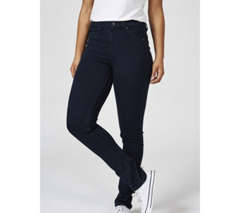 Nick Verreos Slim Leg Jeans with Mock Fly Front - 169914