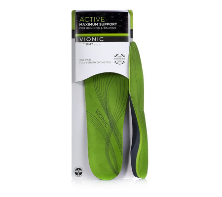 Vionic Unisex Active Full Length One Pair Insoles