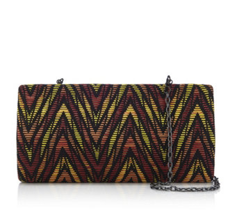 Butler & Wilson Graphic Print Clutch Bag - 163016