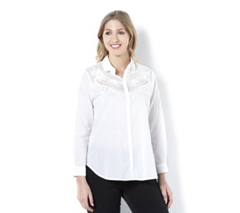 Fashion by Together Button Through Shirt - 164318