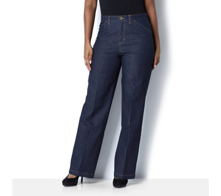 C. Wonder Functional Wide Leg Jean