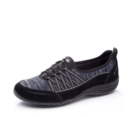 Skechers Utility Eternal Bliss Contrast Webbing Heathered Bungee Slip On