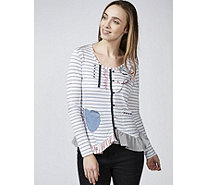 Joe Browns Ship To Shore Stripe Detail Top - 171619