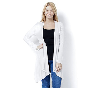 Marble Edge to Edge Waterfall Front Cardigan - 162920