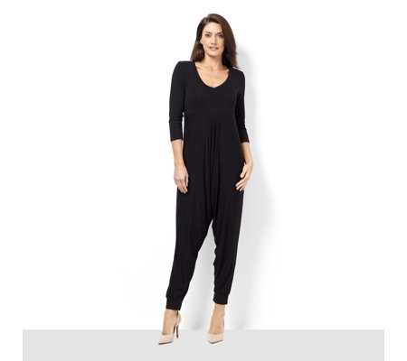 Join Clothes 3/4 Sleeve Jumpsuit