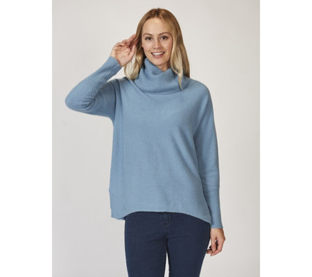 In Cashmere Roll Neck Jumper