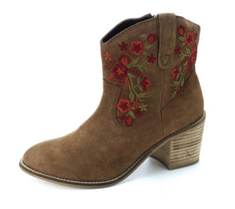 Ravel Turner Embroidered Cowboy Boots - 165521