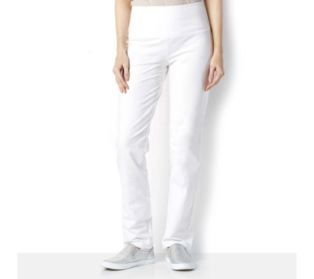 Women with Control Tummy Control Slim Leg Regular Trousers
