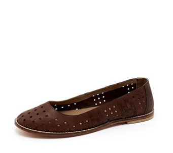 Emu Lymwood Leather Slip On Pump - 163924