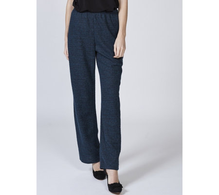 Kim & Co Fine Boucle Relaxed Trousers