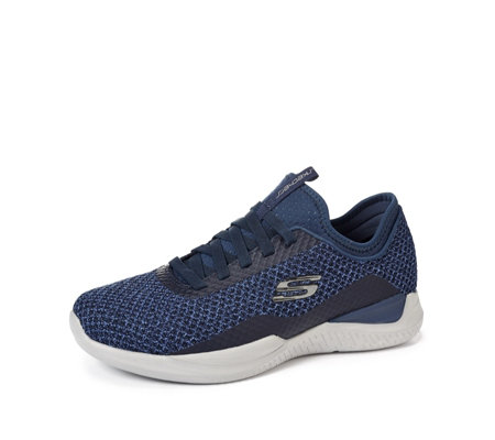 Skechers Matrixx Bransin Men's Knitted Sock Fit Slip On Trainer