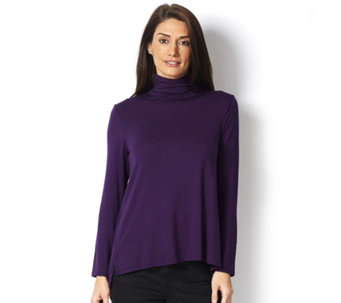 MarlaWynne Butterfly Polo Neck Top - 161226