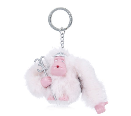 Kipling Pink Party Monkey Key Hanger