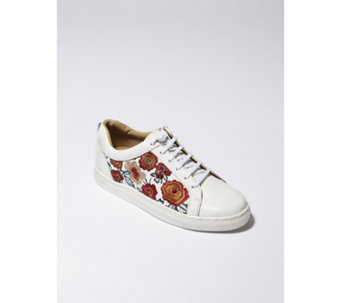 Ravel Garo Embroidered Trainers - 168026