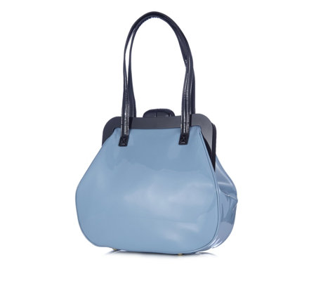 Lulu Guinness Mid Pollyanna Patent Leather Bag