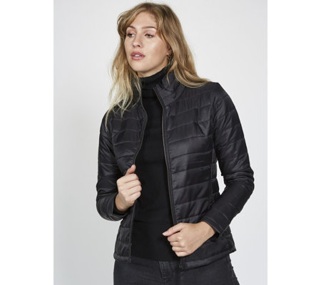 Harvey & Jones Jackie Women's Lightweight Padded Jacket - QVC UK
