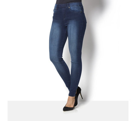 Diane Gilman FLEXstretch Pull On Skinny Jean Regular Length