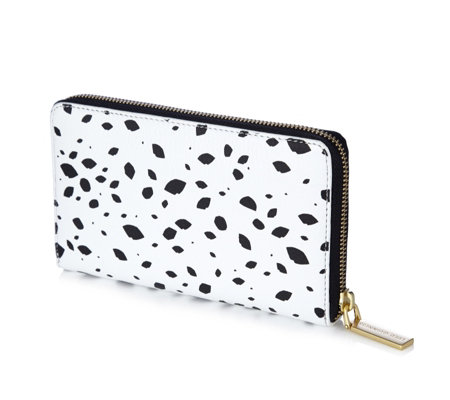 Lulu Guinness Roughly Cut Out Spot Continental Wallet