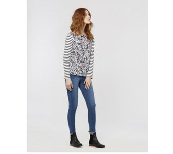 Joules Harbour Printed Jersey Top - 169031