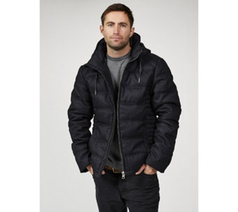 Rino & Pelle Men's Puffer Hooded Jacket - 168232