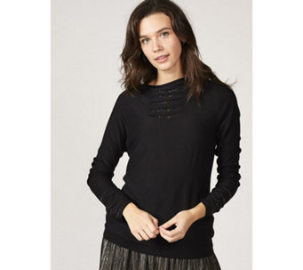 Etoile Hidden Jewel Turtle Neck Knit Jumper - 167833