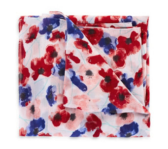 The Poppy Collection Poppy Print Scarf by Lola Rose - 169333