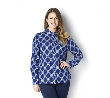 C. Wonder Printed Carrie Blouse