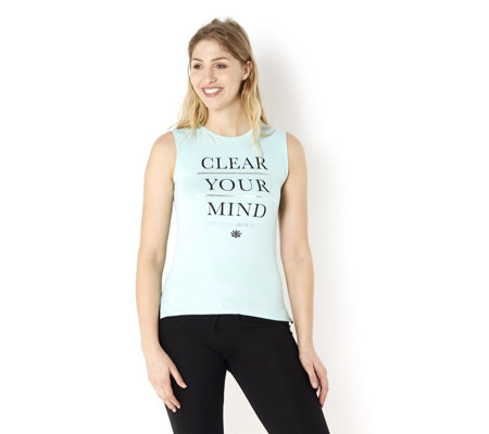 Purelime 'Clear Your Mind' Sleeveless Top