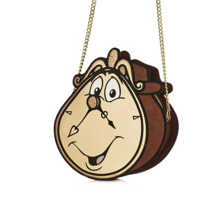 Disney Danielle Nicole Beauty and the Beast Cogsworth Bag