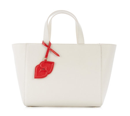Lulu Guinness Cesca Large Leather Tote Bag