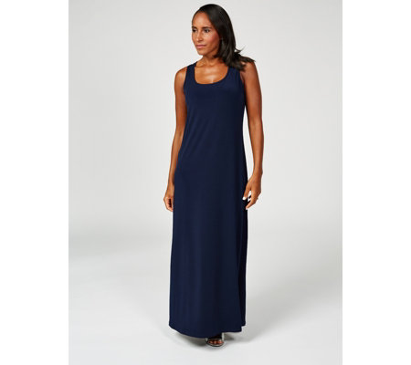 Kim & Co Printed Brazil Knit Regular Length Maxi Dress